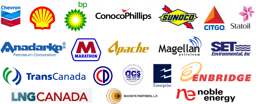 Oil and Gas Clients Logos