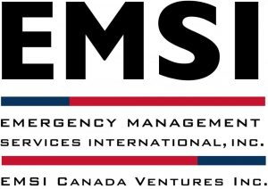 Emergency Management Services International, Inc. and EMSI Canada Ventures Inc. Logo