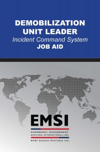 EMSI Demobilization Unit Leader Job Aid