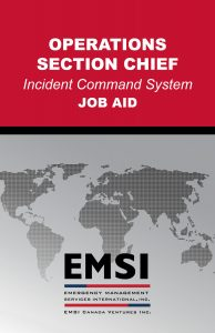 EMSI Operations Section Chief Job Aid