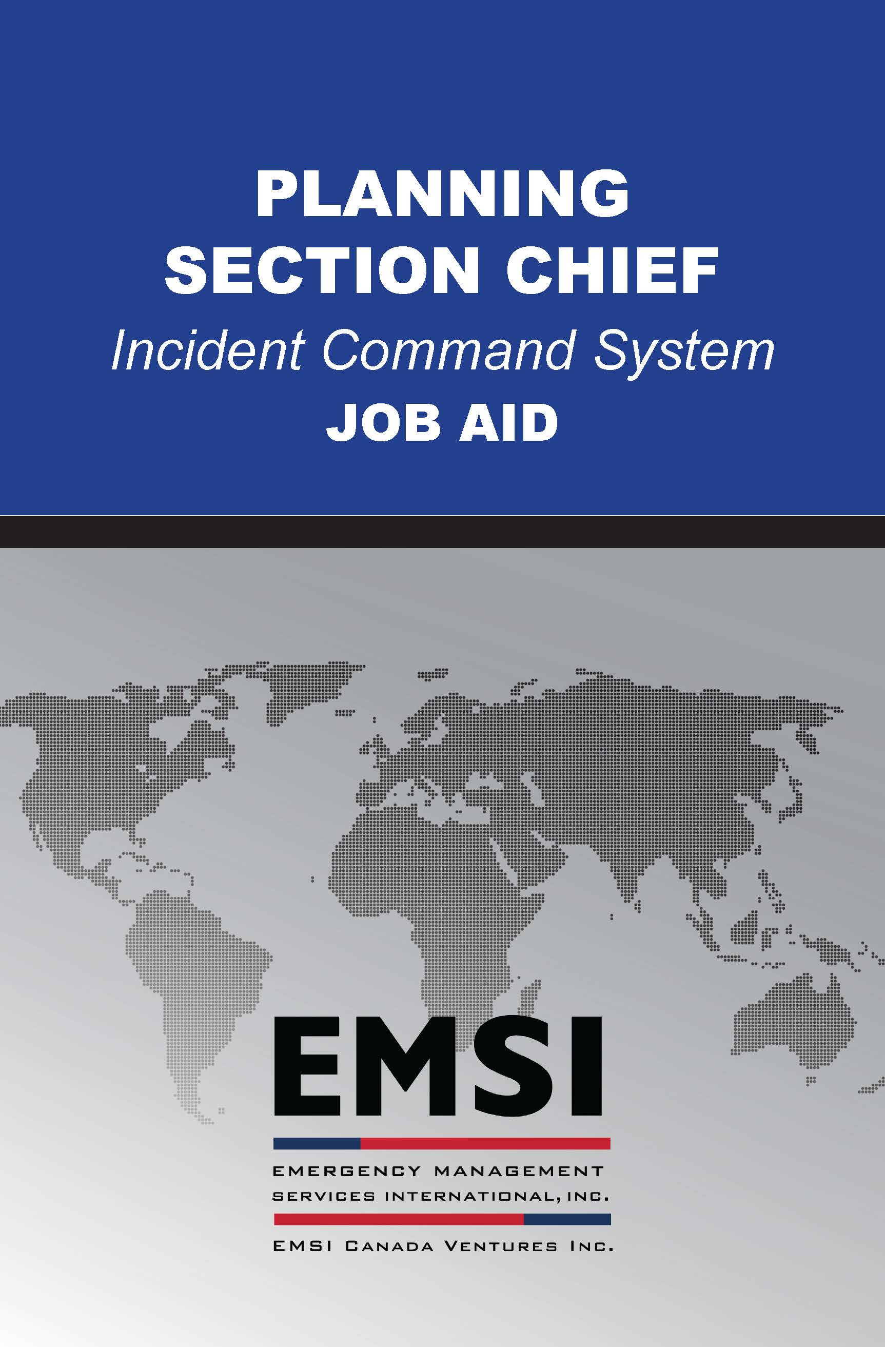ICS-440 Planning Section Chief - EMSI
