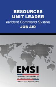 EMSI Resources Unit Leader Job Aid