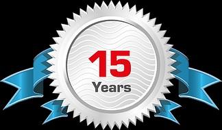 15 Year Anniversary!