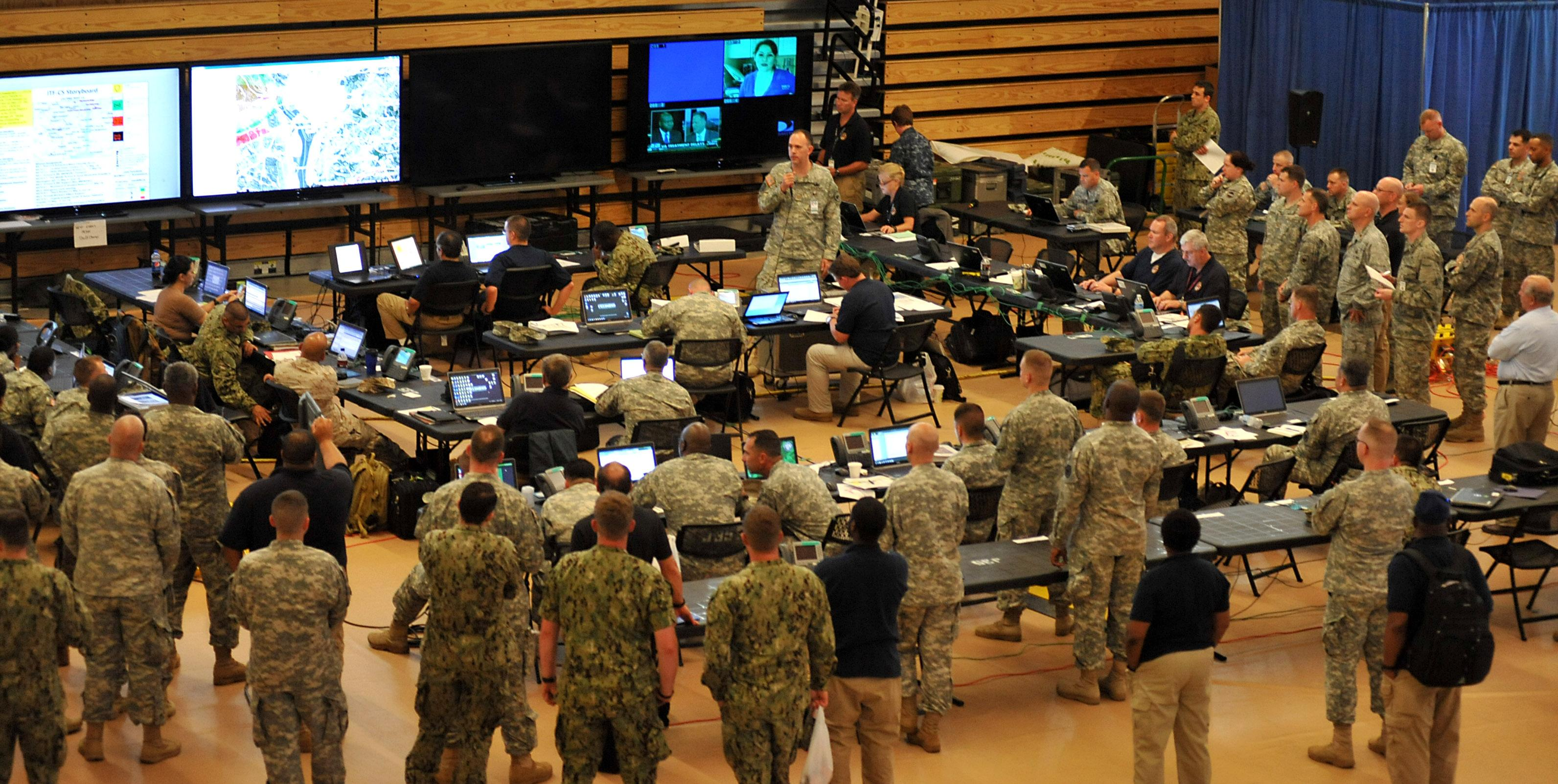 EMSI Delivers Staging Area Manager and ICS-300 Training to DOD Joint Task Force Civil Support (JTF-CS)