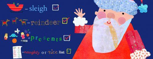 Wonder What's in Santa's Go Kit?